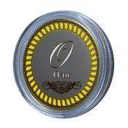 Оля, именная монета 10 рублей, с гравировкой