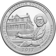 37 парк 25 центов 2017 года Исторический Музей Фредерик Дуглас (Frederick Douglas)