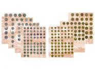 Комплект разделителей для коллекции разменных монет СССР 1961-1991гг