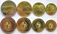 Уругвай 4 монеты (животные)