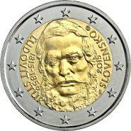 Словакия 2 евро 2015 Людовит Штур UNC
